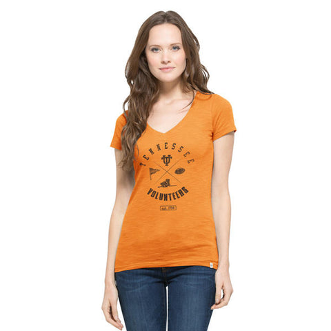 '47 University of Tennessee Vols V Neck Scrum Tee