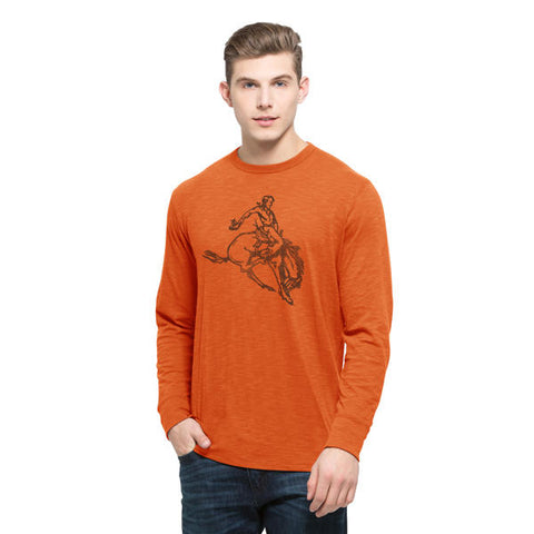 '47 Oklahoma State Cowboys Long Sleeve Scrum Men's Tee