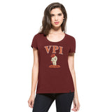 '47 Virginia Tech Hokies Scoop Fieldhouse Tee