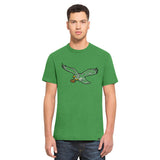 '47 PHILADELPHIA EAGLES LEGACY KELLY SCRUM LOGO TEE MENS