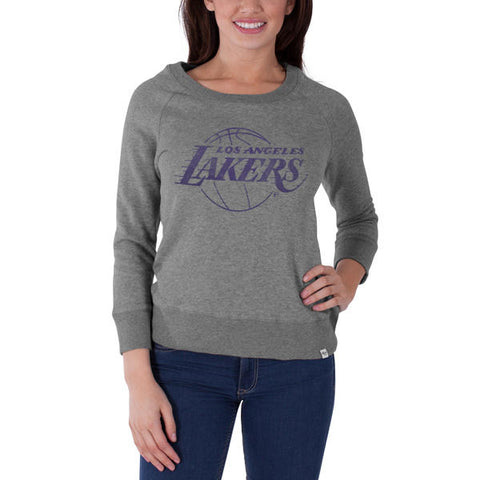 '47 LA Lakers Glimmer Crew Top