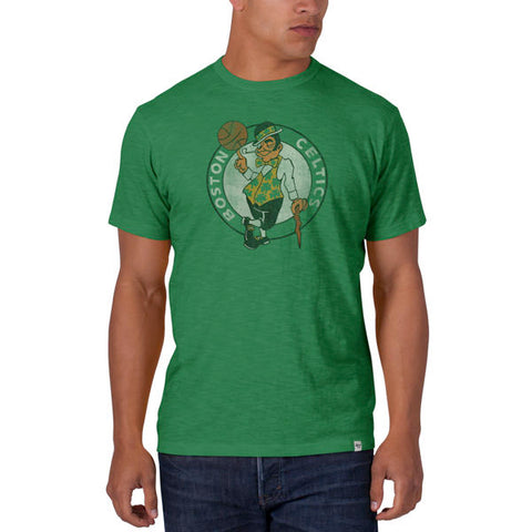 '47 BOSTON CELTICS LEGACY KELLY SCRUM LOGO TEE MENS