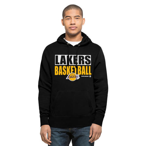 '47 LA Lakers Headline Pullover Mens Hoodie