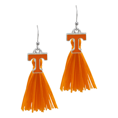 University of Tennessee Vols Tassel Charm Earrings