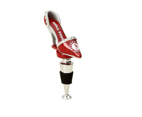 Alabama Crimson Tide Shoe Bottle Stopper