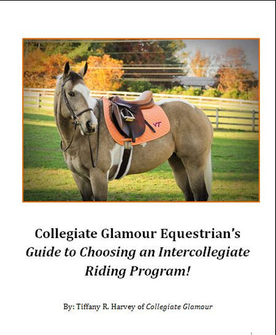 CG's Guide to Intercollegiate Riding
