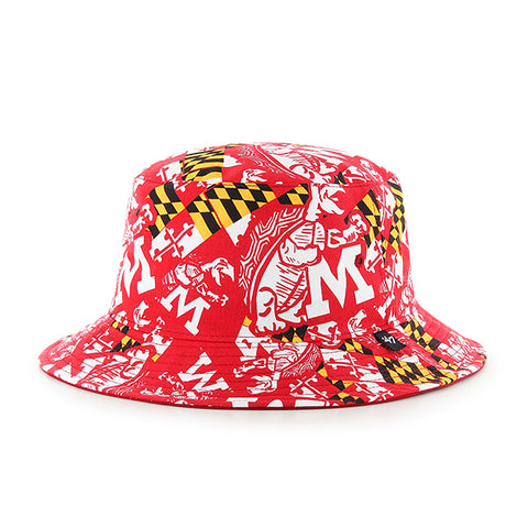 '47 University of Maryland Terrapins Vin White Bravado Seven Bucket