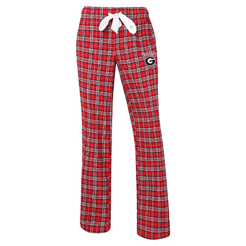 University of Georgia Bulldogs Ovation Ladies Flannel Pants