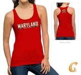 University of Maryland Red Tank Top