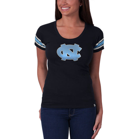 '47 UNC Tar Heels Navy Off Campus Scoop Tee