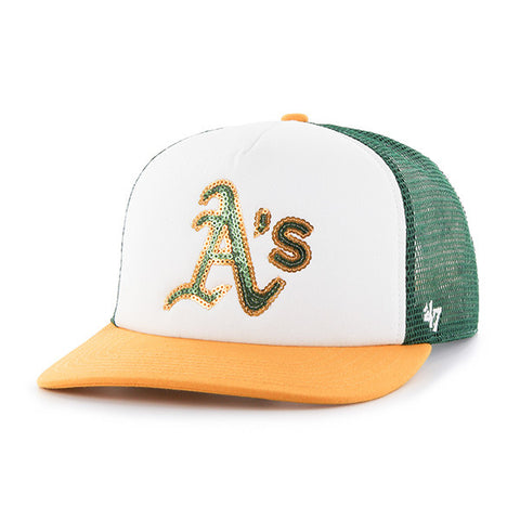 '47 Oakland Athletics Dark Green Glimmer Captain