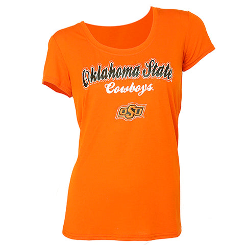 Oklahoma State Cowboys Downtown Short Sleeve Top