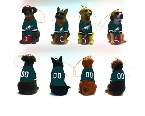 Philadelphia Eagles Dog Ornament