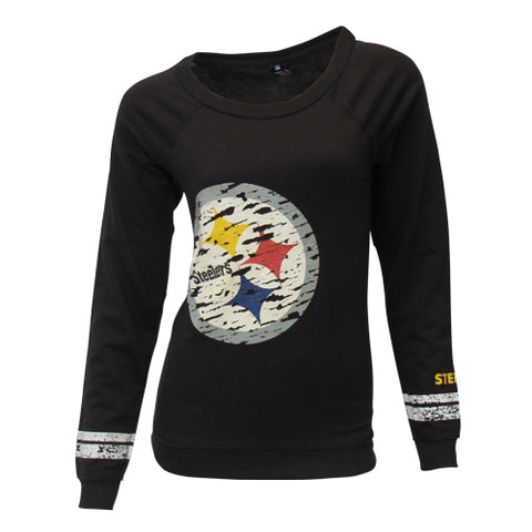 Pittsburgh Steelers Crew Neck Long Sleeve