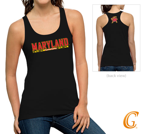 University of Maryland Black Tank Top