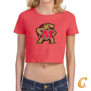 University of Maryland Cropped T - shirt