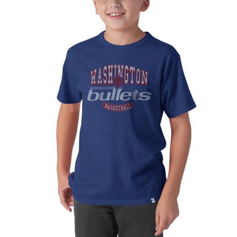 '47 Vintage Washington Bullets (Wizards) Flanker Kids Tee