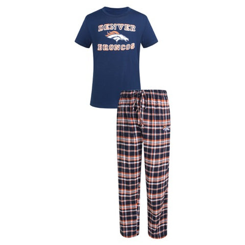 Denver Broncos Tiebreaker Men's Pant and Top Set