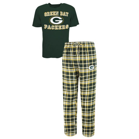 Green Bay Packers Tiebreaker Men's Pant and Top Set