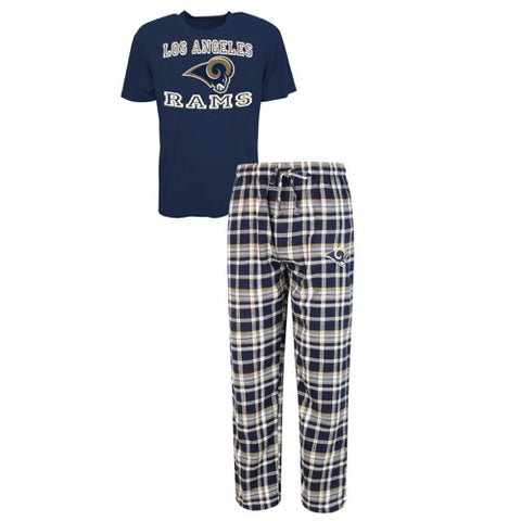 Los Angeles Rams Tiebreaker Men's Pant and Top Set