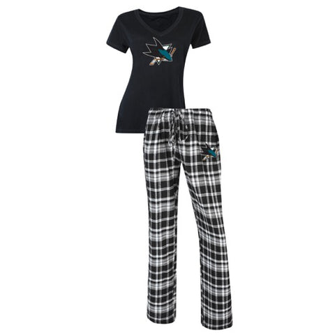 San Jose Sharks Tiebreaker Ladies Pant and Top Set