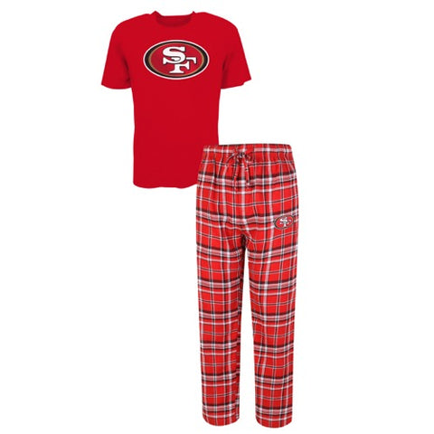 San Francisco 49ers Tiebreaker Men's Pant and Top Set