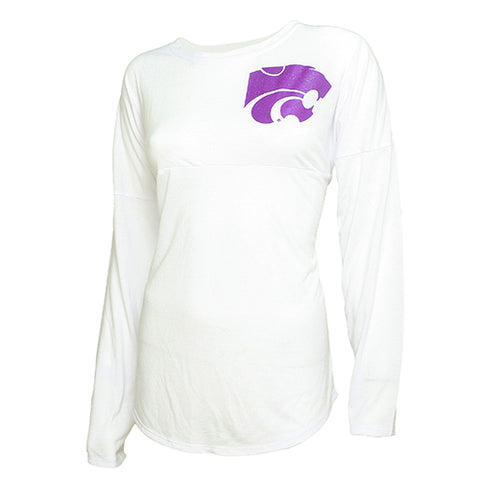 Kansas State Wildcats Comeback Ladies Long Sleeve