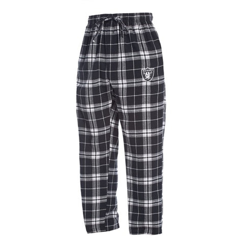 Oakland Raiders Huddle Men's Flannel Pants