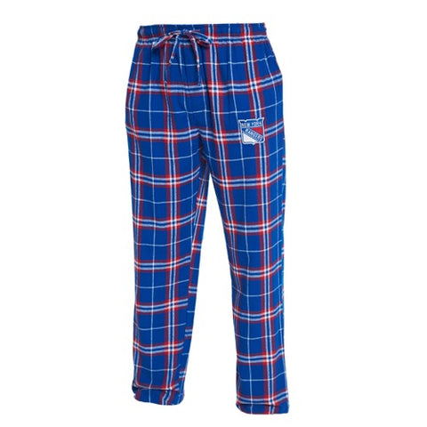 NY Rangers Huddle Men's Flannel Pants