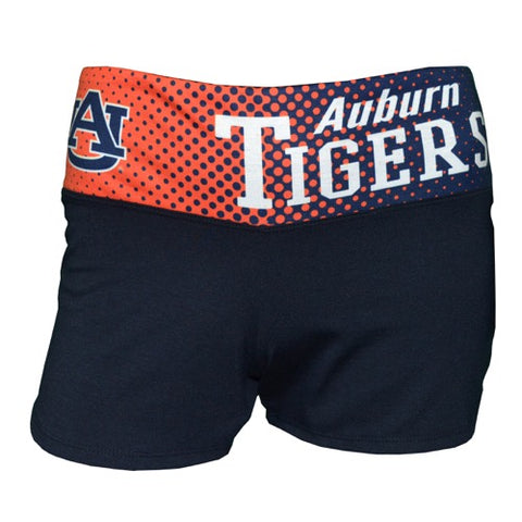 Auburn Tigers Dynamic Ladies Shorts