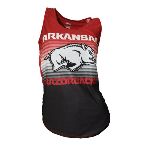 University of Arkansas Razorbacks Dynamic Ladies Tank Top