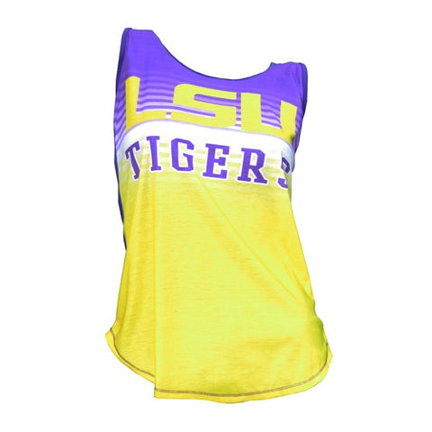 LSU Tigers Dynamic Ladies Tank Top
