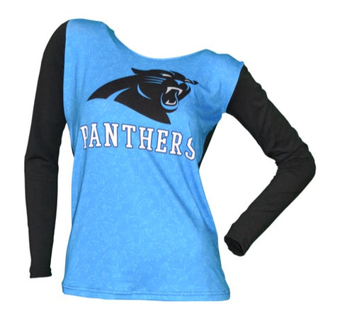 Carolina Panthers Dynamic Ladies Hooded Top