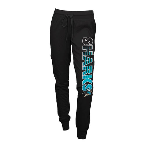 San Jose Sharks Sweep Ladies Solid Knit Pants