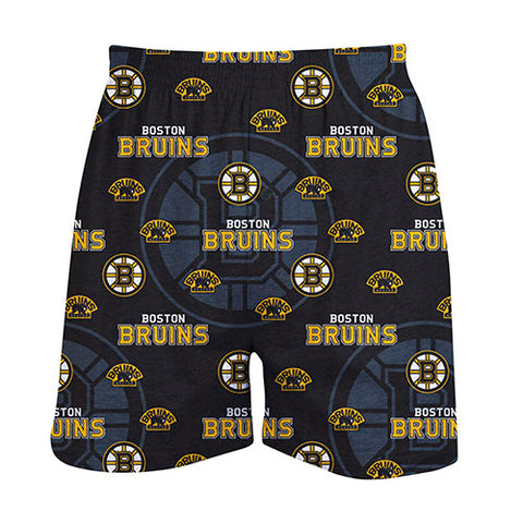 Boston Bruins Keynote Mens Printed Knit Boxer