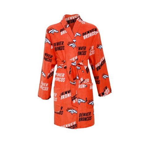 Denver Broncos Wildcard Ladies Microfleece Robe