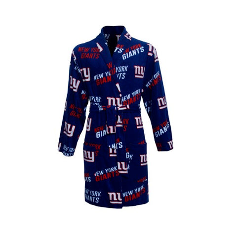 NY Giants Wildcard Ladies Microfleece Robe