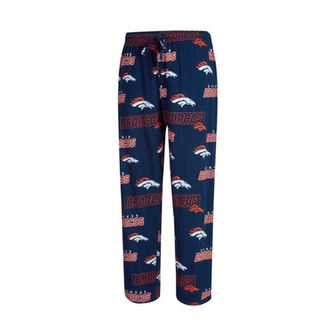 Denver Broncos Mens Slide AOP Knit Pants