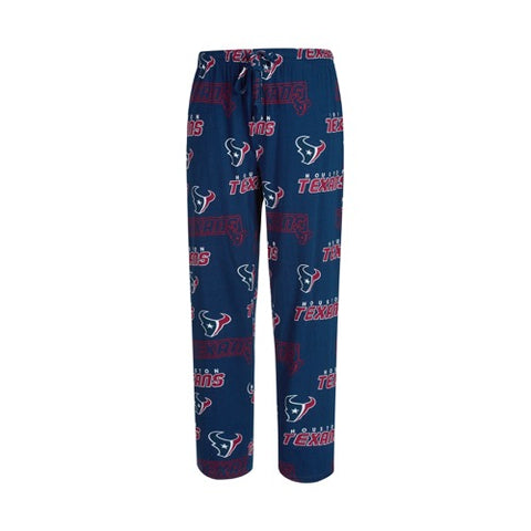 Houston Texans Mens Slide AOP Knit Pants