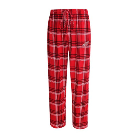 Detroit Red Wings Playoff Mens Plaid Knit Pants