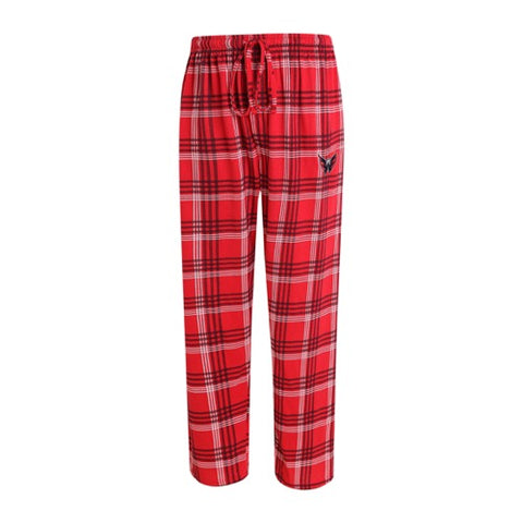 Washington Capitals Playoff Mens Plaid Knit Pants