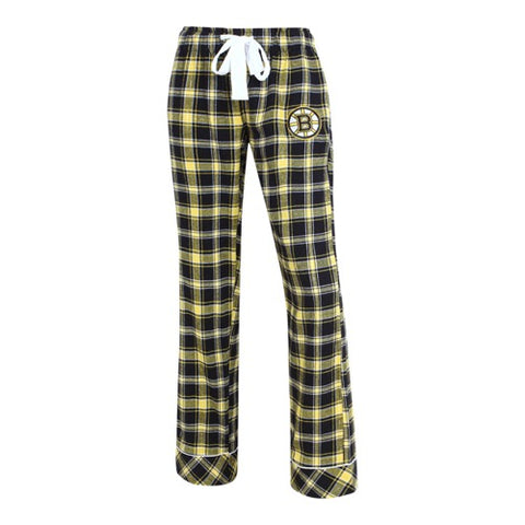 Boston Bruins Captivate Ladies Flannel Pants