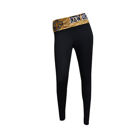 New Orleans Saints Cameo Ladies Leggings