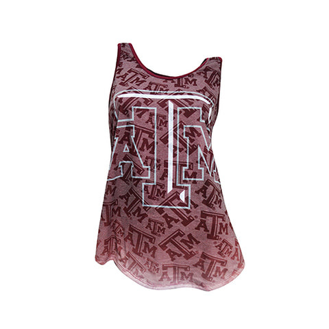Texas A&M Aggies Cameo Burnout Tank Top