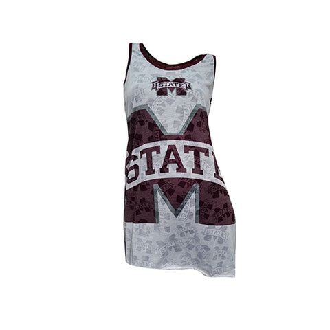 Mississippi State (MSU) Bulldogs Cameo Burnout Nightdress