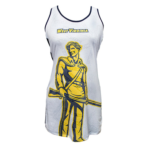 West Virginia (WVU) Mountaineers Cameo Burnout Nightdress
