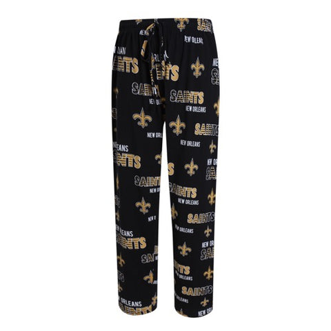 New Orleans Saints Sweep Mens Printed Knit Pants