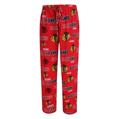 Chicago Blackhawks Sweep Mens Printed Knit Pants
