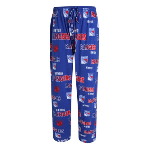 NY Rangers Sweep Mens Printed Knit Pants