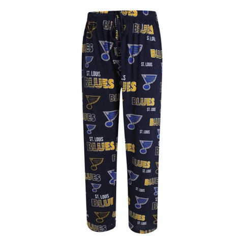 St. Louis Blues Sweep Mens Printed Knit Pants